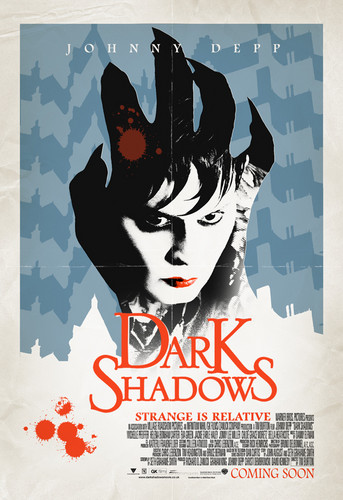 Johnny Depp wallpaper possibly containing anime entitled Dark Shadows