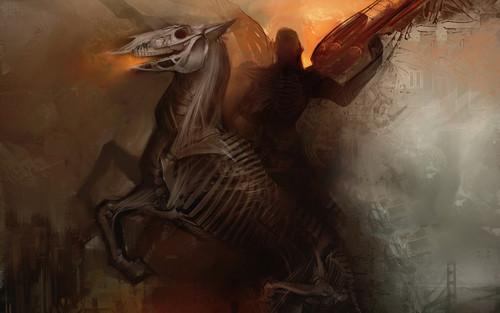 Darkness wolpeyper