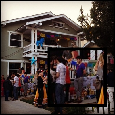Darren criss party