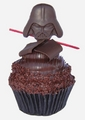 Darth Vader cupcake for star, sterne Wars Weekends