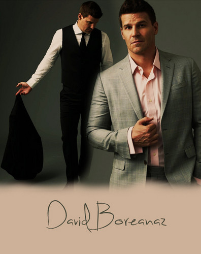 David Boreanaz wallpaper containing a business suit, a suit, and a two piece titled David <3