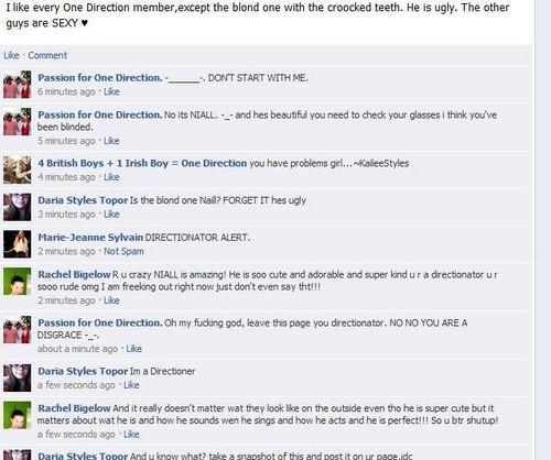 Directionator hatin on Niall D: