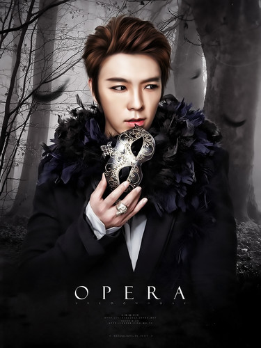 Super Junior Обои entitled Donghae Opera!!♥