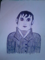 Drawing Barnabas Collins - tim-burtons-dark-shadows fan art