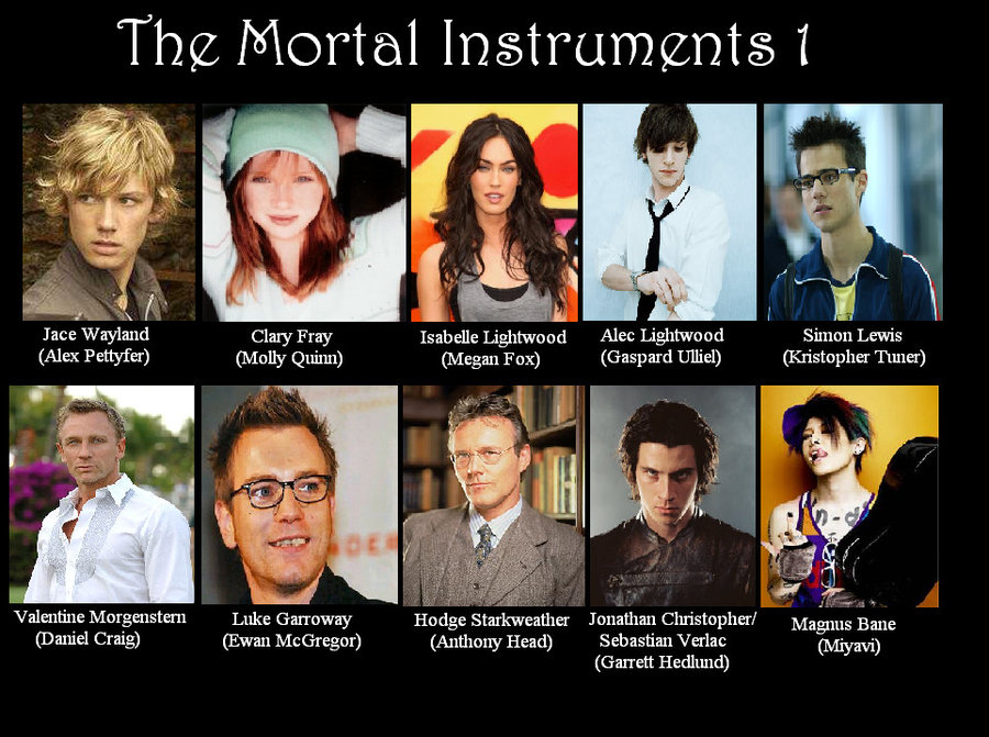 Mortal Instruments Dream Cast