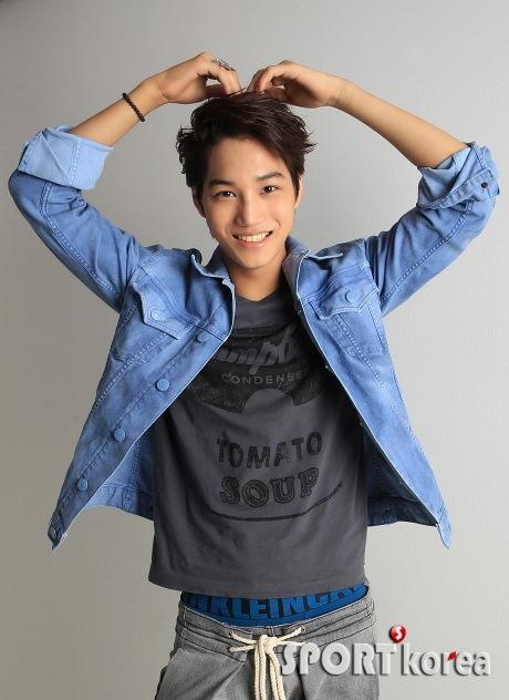 Exo Heart Sign Gif EXO-K-KAI-Sport-Korea-exo-k-