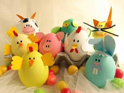 খাবার দেওয়ালপত্র entitled Easter Eggs