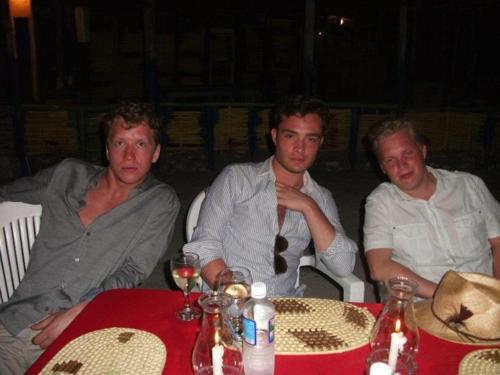 Ed Westwick Vacationing in Jamaica