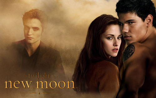 Edward,Bella &amp; Jacob - twilighters Wallpaper