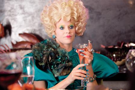 Effie Trinket at the Capitol