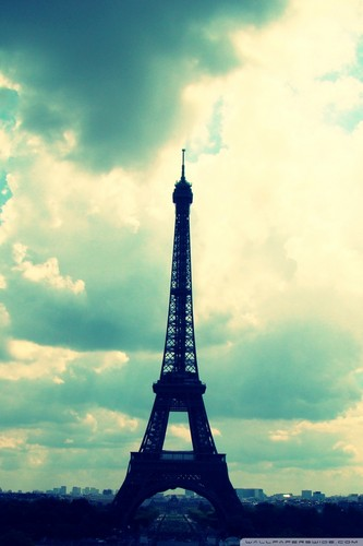 Eiffel Tower iPhone Hintergrund