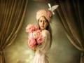 Elegant little girl