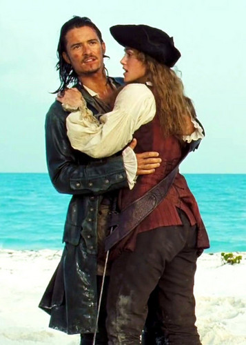 Elizabeth and Will - pirates-of-the-caribbean Photo