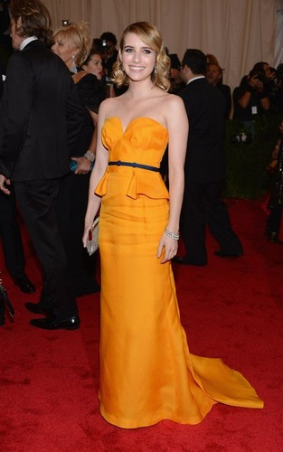 Emma Roberts: 2012 Met Ball Beautiful - emma-roberts Photo