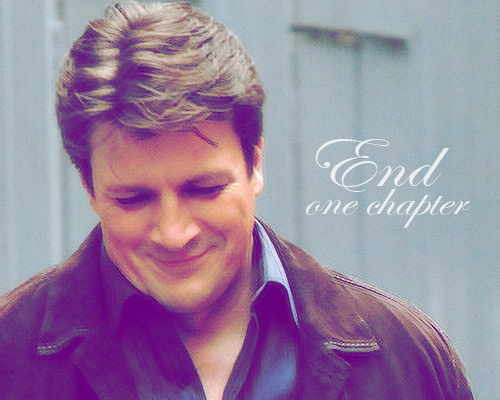 End One Chapter...And Start Another One [Always] <333