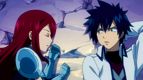 Erza and Gray sleep together!!!