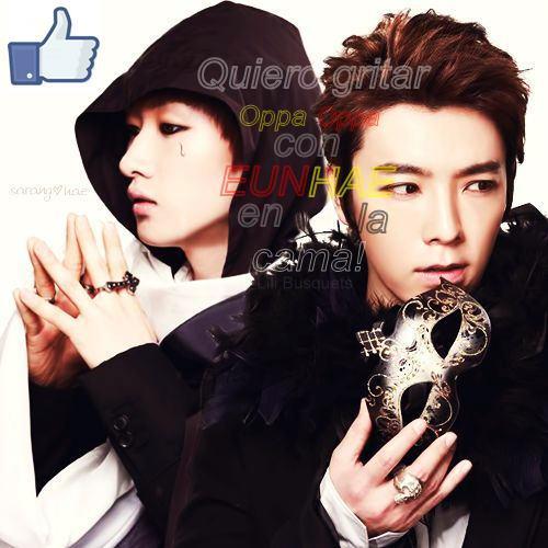 Eunhyuk and Donghae Opera!!♥