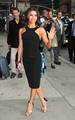 Eva Longoria on the way to the late show with david letterman 2012