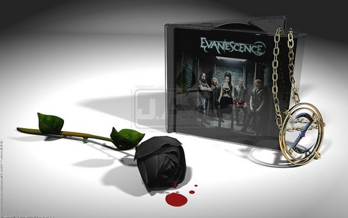Evanescence wallpaper possibly with a hoover, a vacuum, and a sign called Evanescence