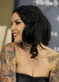 "First Solo Art Show ""New American Beauty"" - kat-von-d photo"