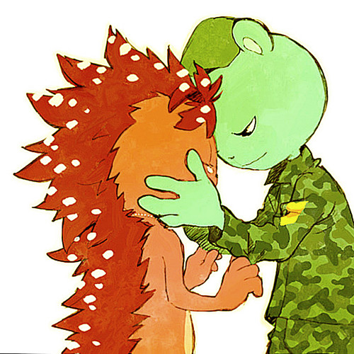 Flippy and Flaky - happy-tree-friends Photo