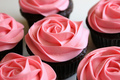 Flower Cupcakes - food photo