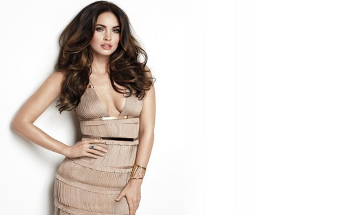 Megan Fox wallpaper possibly containing a well dressed person titled Megan Fox 2012 Wallpaper