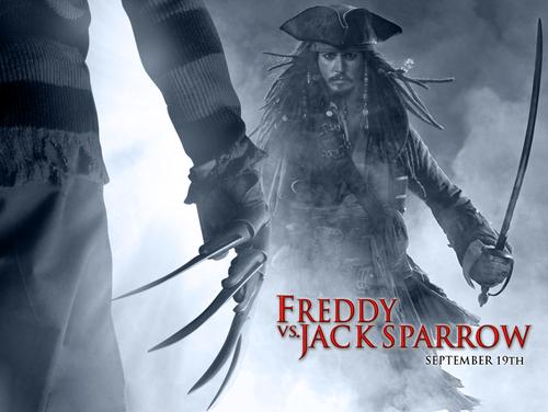 Freddy vs. Jack Sparrow