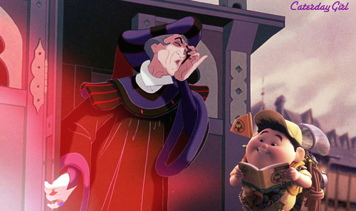 Frollo in a Bad Mood