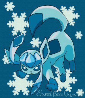 Eevee Evolutions Clan fondo de pantalla called GLACEON