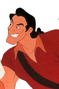 Disney achtergrond probably containing anime titled Gaston