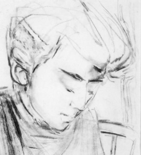 George Harrison by Stuart Sutcliffe