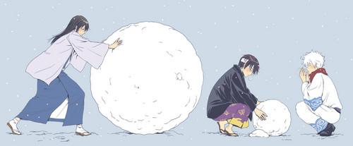 Gintoki, Katsura & Takasugi x3