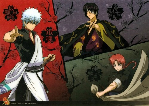 Gintama Wallpaper Containing Anime Called Gintoki Takasugi Kamui