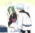 Gintoki & Tama