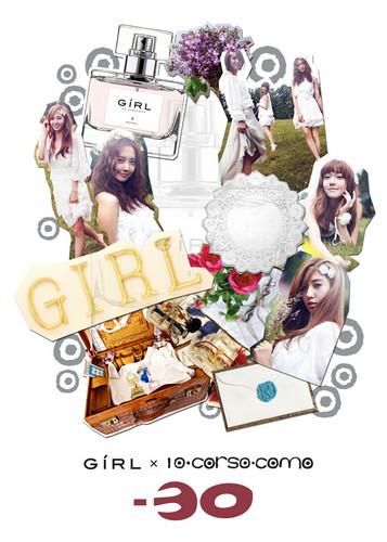 "Girls' generation ""Girl"" perfume 10 Corso Cosmo"