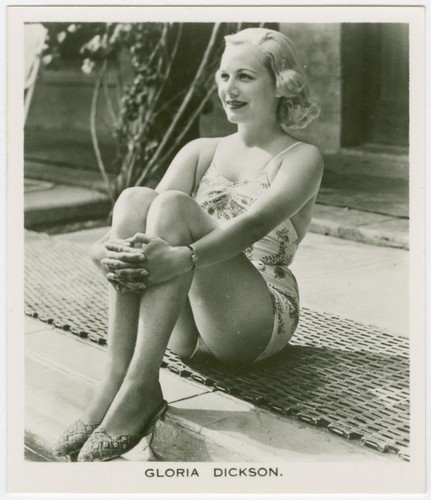 Gloria Dickson (August 13, 1917 - April 10, 1945)