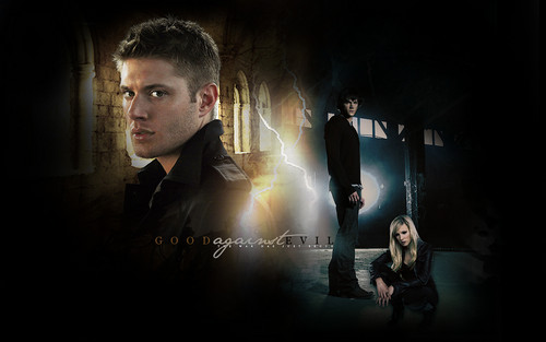 Good against evil - supernatural Wallpaper