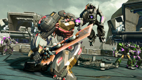 Grimlock in fall of cybertron - transformers Photo