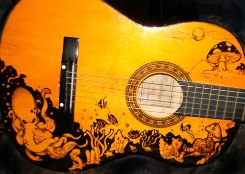Guitar Designs Art : Guitar images art wallpaper and background photos