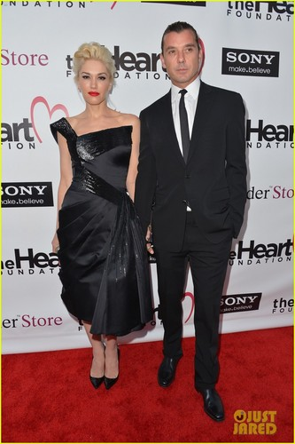 Gwen Stefani: दिल Foundation Gala with Gavin Rossdale