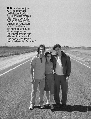On the Road (Movie) wallpaper with a carriageway titled HQ Premiere Magazine Scans