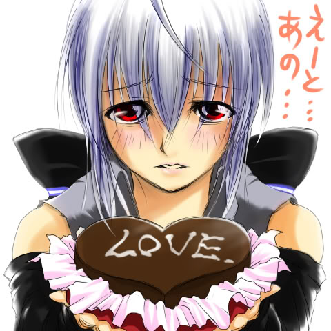 Haku's Love For You - vocaloids Photo