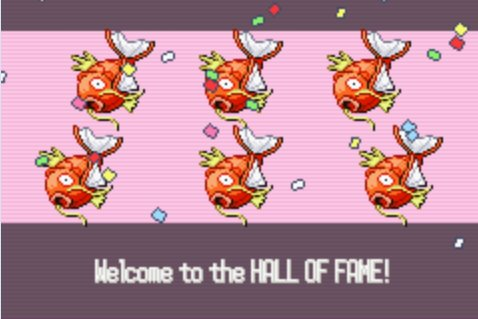 Hall of Fame! - pokemon Photo