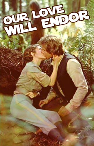 Leia and Han Solo wallpaper entitled Han and Leia