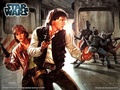 Han and Leia - leia-and-han-solo wallpaper