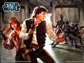 Han and Leia - leia-and-han-solo wallpaper