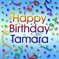 Happy Birthday Tamara <3