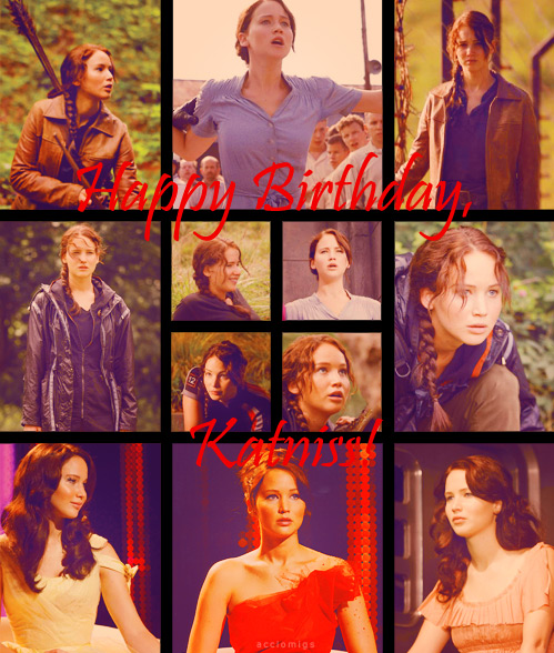 Happy birthday, Katniss! - peeta-mellark-and-katniss-everdeen photo