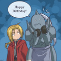 Happy birthday - full-metal-alchemist photo